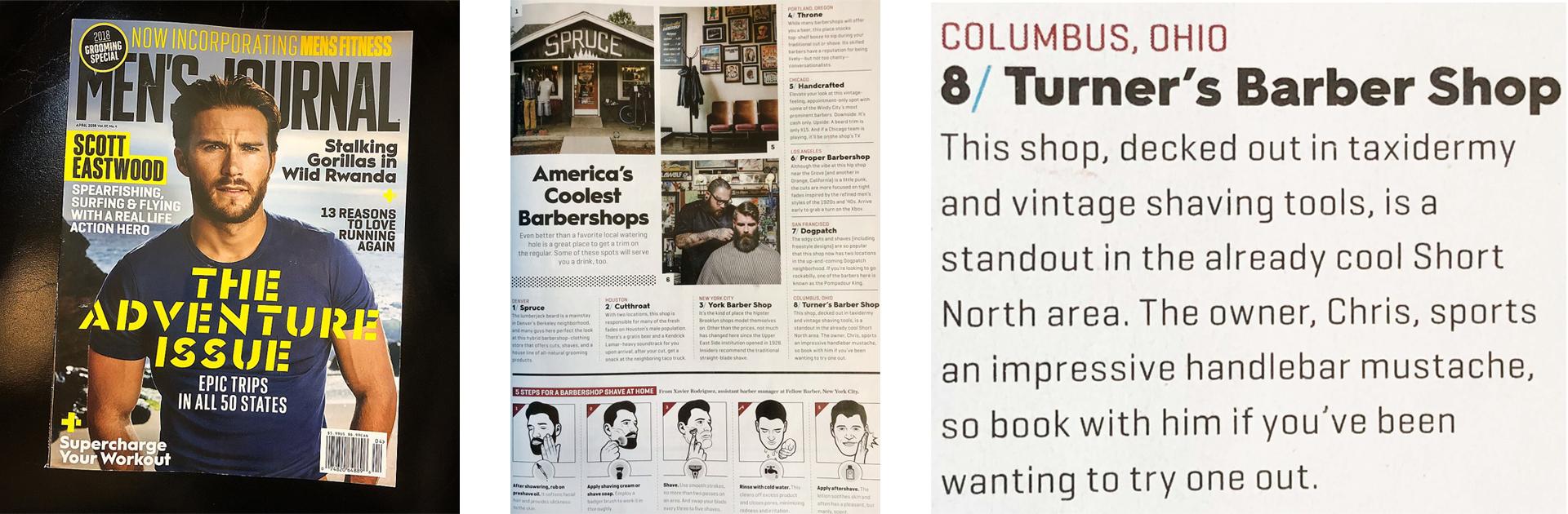 Turner's Barber Shop & Shaving Parlor // Barber Shop in Columbus, Ohio